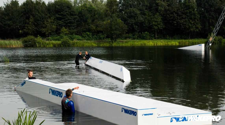 Przeszkody Wakepro w Lakeside Zwolle