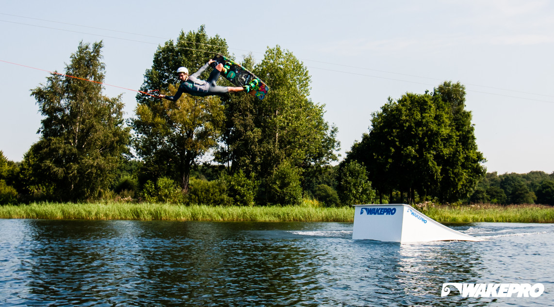 Wakepro obstacles in Lakeside Zwolle