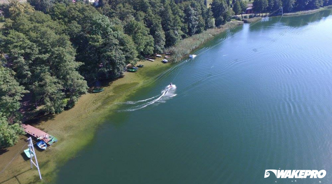 Wakepro obstacle in Sierakow Wake Park