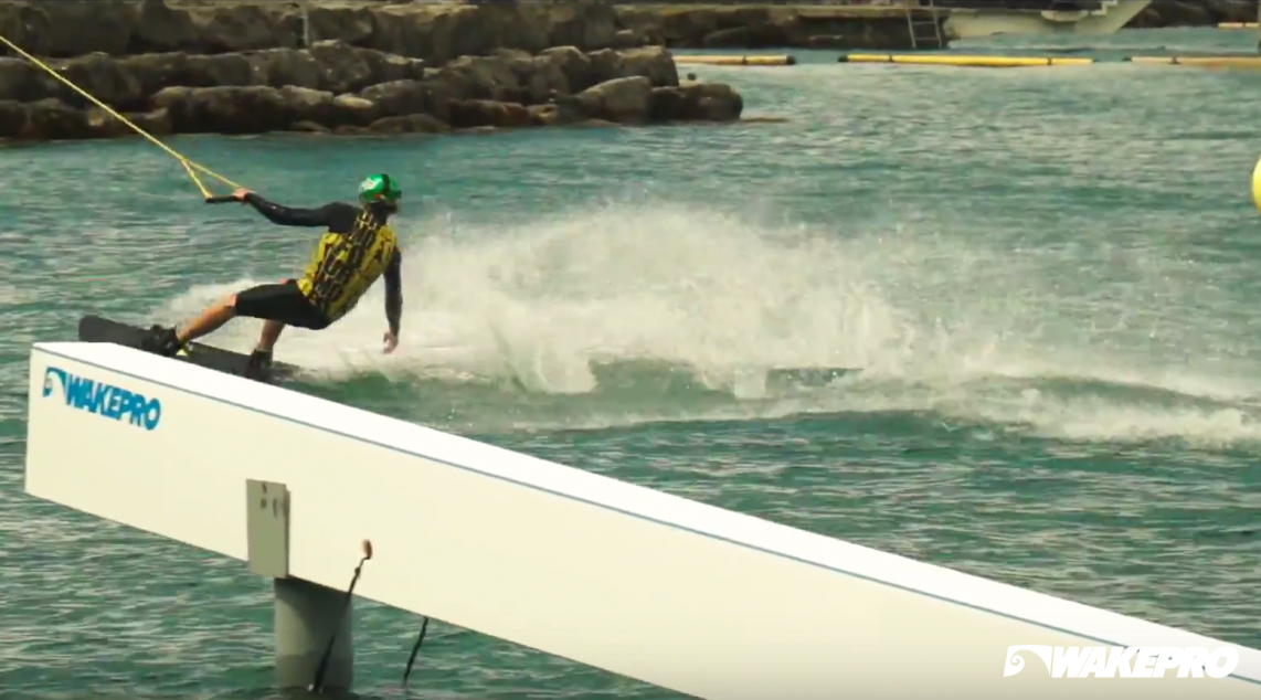 Wakepro obstacle in Wake Sport Cente