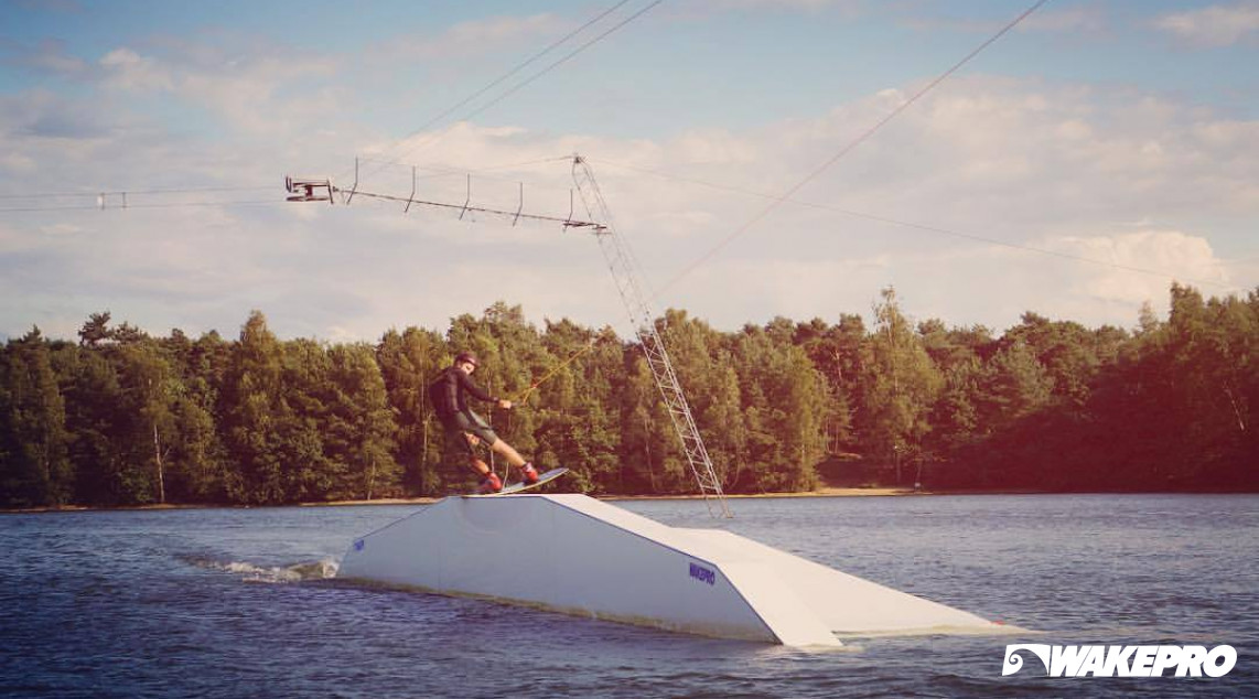Wakepro obstacles at Goodlife Cablepark