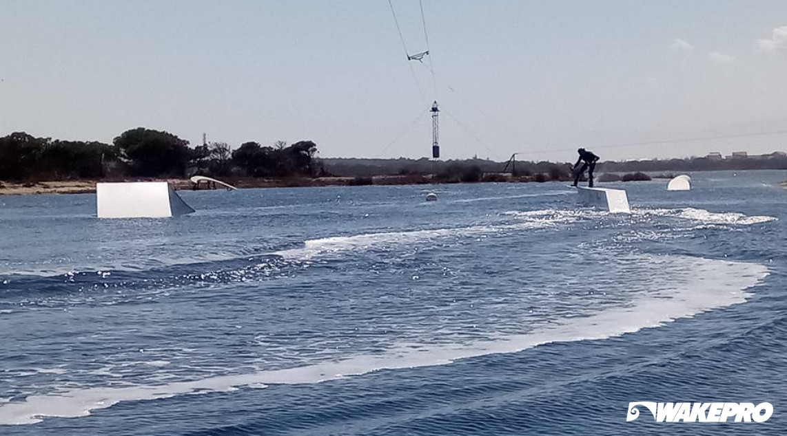 Wakepro elements in Sailor Wake Park