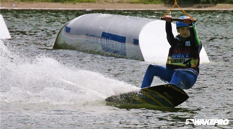 Wakepro obstacles in Floating Park Głębokie