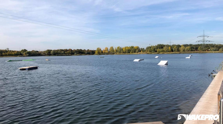 Wakepro elements in Wasserskilift-Hohenweiden