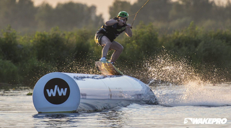 Wakepro obstacles in WaWa Wake